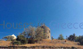 Kea, mill and house in Koundouros to renovate