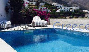 Sifnos, Apolonia, historical house with pool for sale