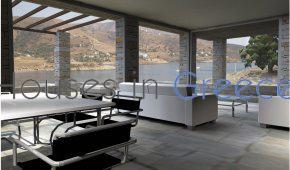 Design villa for sale in Kea near the beach