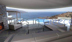 Project of new villas for sale in Kea