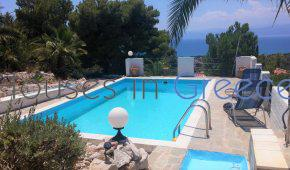 Porto Heli, house with pool and sea view for sale