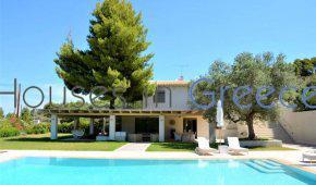 Porto Heli, Kranidi, villa with pool close to the sea