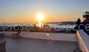Amazing sea view villa in Paros