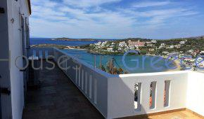 Andros, Batsi, apartment with sea view for sale