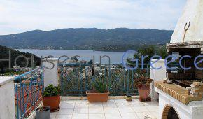Poros, Askeli, house with panoramic sea view for sale