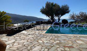 Beautiful stone villa in Kea with pool